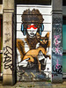 Sphynx (Steve Taylor (Photography)) Tags: sphynx holding scarf cat mask art graffiti mural tag streetart cool calm uk gb england greatbritain unitedkingdom london hairless hair tail dragon bushy finbarrdac