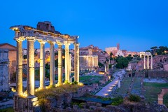 Forum Romanum archeological site in Rome after sunset (altextravel) Tags: ancient church city cityscape europe european historic history italian italy old outdoor panorama sightseeing stone antique arch archaeological archeology architecture building capital colosseum column culture dusk empire excavations famous foro forum historical landmark landscape monuments palatino roma roman romano romanum rome ruin ruins temple tourism travel unesco vacation lazio it