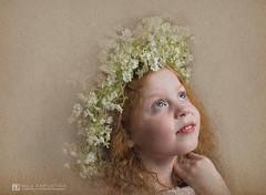 Anisia (milakapustina) Tags: redhead little girl wreath white flowers pastel fine art children