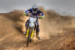 Dirt (Andy Tee) Tags: motocross motorbike motorcycle racing off road dirt bike husqvarna hdr sand mud action motorsport