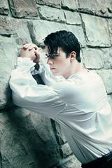 Romeo (Duy Truong Photography) Tags: caleb edwards duytruongphotography duy truong photography male model florida orlando portraiture handsome romeo spring literature