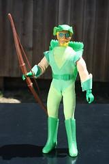 World's Greatest Super Heroes - Green Arrow ( Mego 1974 ) (Donald Deveau) Tags: wgsh worldsgreatestsuperheroes actionfigure superhero doll mego toys toyphotography vintagetoy greenarrow dccomics