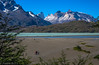 Magic! (Patagonia, Chile) (Peraion) Tags: patagonia chile southamerica peaks torresdelpaine nationalpark lake cliffs ruggedscenery people