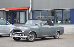 1958 Peugeot 403 Cabriolet DZ-06-75 (Stollie1) Tags: 1958 peugeot 403 cabriolet dz0675 woudenberg