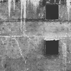 Minimal Square - Demolition (Visual Stripes) Tags: minimal square wall composition demolition decay blackandwhite