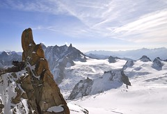 The Cliff (St./L) Tags: nikon nature france white snow mountain mountains highmountains chamonix horizont sly blue cloud sun morning mountainside rock stone ski landscape imaginative creative shadow cliff vertical glide relax montblanc wide harmony