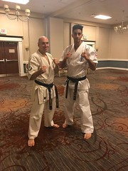 Seminar with Hanshi Albert Mady and Senseï Chucky Mady at 27th AIKC IFK USA
