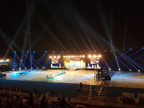 Ceremonia Inaugural II Juegos Suramericanos de la Juventud Santiago 2017