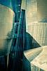 Guggenheim (The Green Album) Tags: bilbao guggenheim frank gehry architecture metal sheets aluminium curves lines light dark fujfilm xt2 modern contemporary