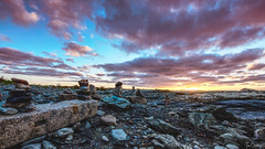 Sunrise at Brenton Point (iecharleton) Tags: sunrise sunset clouds sky lanscape rocky seaside shore coast brentonpoint statepark newport rhodeisland newengland outdoors morning dawn wideangle hdr