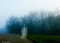 The Ghost (that_damn_duck) Tags: nature ghost supernatural spirit entity road paranormal female femalespirit