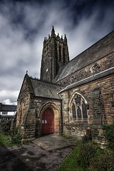 Saltburn Church (Baz 3112) Tags: foranyonewhosinterested 500px streamzoofamily hdr hdrcollection hdrgallery hdrphoto hdrphotography church perspective religion building history historial architecture