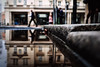 Corner of Ratajczaka (ewitsoe) Tags: puddle rain water autumn fall fujifilm street city peopel walking day urban reflection top lowdof bokeh ewitsoe poland poznan ratajczaka buildings