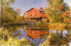 Postcrossing US-4944828 (booboo_babies) Tags: mill autumn autumncolors fall river indiana postcrossing