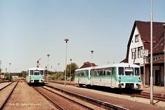 771.070+971.613 - RegionalBahn Seebad Ahlbeck - Wolgaster Fahre & 771.017+971.XXX - RB Zinnowitz - Peenemuende. (stoker177) Tags: uznam usedom niemcy deutschland germany ferkeltaxe seebad ahlbeck zinnowitz heringsdorf szynobus schienenbus dmu szt