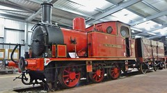 The Lady Armaghdale (Jeff Mckever) Tags: theladyarmaghdale hunslet 060 highleyenginehouse thesevernvalleyrailway steam loco