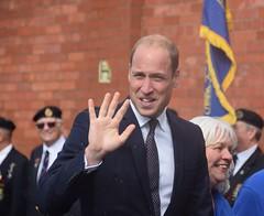 Prince William visiting Wallasey (pw.townley@btinternet.com) Tags: prince william wallasey royal