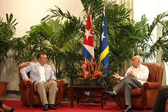 "PM-Schotte-with-Vice-President-Machado-of-Cuba_001 • <a style=""font-size:0.8em;"" href=""http://www.flickr.com/photos/137313818@N05/37274864150/"" target=""_blank"">View on Flickr</a>"