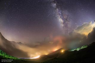 星河欲轉千帆舞 Galaxy, Mt.Hehuan _MG_3020