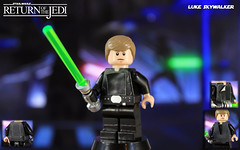 Custom LEGO Star Wars: Return of the Jedi | Luke Skywalker (LegoMatic9) Tags: lego star wars episode vi return jedi luke skywalker final duel custom minifigure