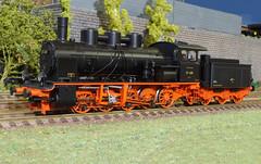 DRG BR 57 409 - Brawa (Stig Baumeyer) Tags: steamlocomotive ånglok dampflokomotive damplok damplokomotiv h0layout scalah0 scala187 h0 h0skala h0scale diorama echelleh0 echelle187 187 modelljärnväg modelljernbane modelleisenbahn modelrailway ferromodellismo brawa187 brawah0 brawa drg deutschereichsbahn br57 baureihe57 drgbr57 drgbaureihe57 württembergischehh hh wühh