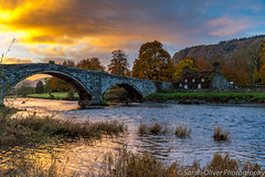 A beautiful autumnal morning (sarahOphoto) Tags: 2017 6d llanrwst autumn bridge canon clouds colours conwy fall fawr kingdom landscape llanrw llanwrst morning october outdoors pont river room sky snowdonia sunrise tea thatched trees tuhwntirbont uk united village wales unitedkingdom gb national park cottage explore