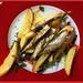 Fish Chips Salad