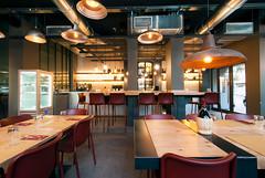_DSC2058 (fdpdesign) Tags: pizzamaria pizzeria genova viacecchi foce italia italy design nikon d800 d200 furniture shopdesign industrial lampade arredo arredamento legno ferro abete tavoli sedie locali