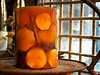 Lighting Autumn (Bennilover) Tags: candle candles autumn color orange fall october rogersgardens gardens ornaments art crafts