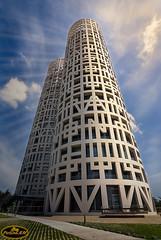 Torres de Hércules (PictureJem) Tags: torres arquitectura vertical