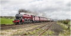 Jubilee return (Blaydon52C) Tags: jubilee melkridge haltwhistle galatea lms steam mainline railway railroad westcoastrailwaycompany wcrc