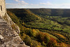 Swabian Alb in Fall - Hohenneuffen (Sue Elderberry) Tags: hohenneuffen swabian schwäbisch alb albhochfläche sunshine foliage fall autumn castle albtrauf