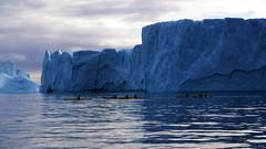 Explorers (little_frank) Tags: diskobay greenland grønland iceberg seacliffs atlanticocean nature ilulissat boattrip exploring surface adventure travel journey wild wilderness natural light