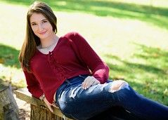 Reclining at the Park (R.A. Killmer) Tags: seniorphotos smile senior kelsey southpark bethelpark highschool portrait pose beauty reclined causual jeans style