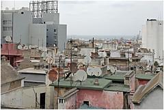 marokko 98 (beauty of all things) Tags: marokko morocco urbanes cities casablanca bauzaun