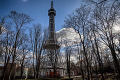 Petřín (radomirmor) Tags: viewtower sky forest petrin praha 6d