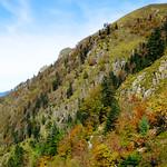 Sentier dans les Pyrénées en automne thumbnail
