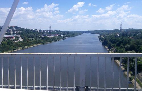 uitzicht van brug, Cernavoda