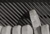 Hammer of an old piano (G. Lang) Tags: piano blackwhite bw macro strings import04112017 makro einfarbig schwarzweis saiten blackandwhite macromondays memberschoicemusicalinstruments noiretblanc sonyilce7m2 monochrome instrumentsàcordes sonyalpha7ii