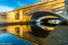 Bridge Over Low Waters (informalphotography) Tags: bridges california canal reflection sunset venice water