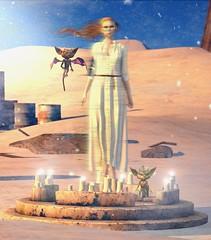The Sorceress (ℐshwari Sting) Tags: hextraordinary imp imps mystery mahem magic summon witch sorceress secondlife virtual life world woman women female feminine zenith
