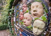 Norton face sculpture 04 oct 17 (Shaun the grime lover) Tags: garden sculpture face mask relief wall walled norton priory runcorn cheshire ivy astmoor
