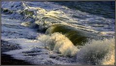 Breaking on the beach (* RICHARD M (Over 7 MILLION VIEWS)) Tags: incomingtide englishchannel lamanche eastbournebeach beaches eastbourne eastsussex sea water spray seaspray wet windy breakers surf foaming england unitedkingdom uk greatbritain britain britishisles islandnation nature power seapower waterpower spume beachfoam seafoam seawater onshorewind coastal coast shoreline seabreeze onshorebreeze breezyday september autumn fall maritimeclimate