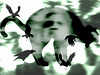 Just Hanging Out With my Ghoul Friends (soniaadammurray - Off) Tags: digitalphotography manipulated experimental collage abstract halloween cats ravens ghosts selfportrait
