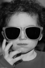 Cool (ilBovo) Tags: ilbovo girl 750d canon blackandwhite portrait cool