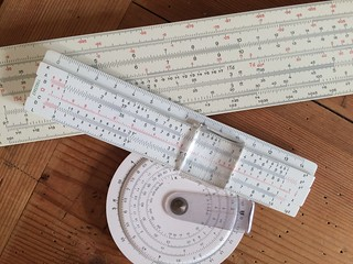 Slide rules!! Beautiful old analogue calculators. If you'd like to find out how to use yours or get the most out of it, please check out my informative videos at - https://youtu.be/kDSAtKl2BRw