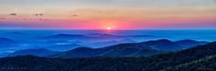 Blue Ridge Sunrise (Nikographer [Jon]) Tags: snp shenandoahnationalpark va virginia 20161024d810052222 2016 fall oct october