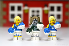 Yay...LEGO! (dr_spock_888) Tags: lego collectible minifigures zombie cheerleaders