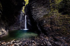 Cascata di Caporetto (fbphotofranz) Tags: kobarid caporetto 1424 nikon d750 longexposition filtri filters nisi acqua waterfall cascata slapkozjak