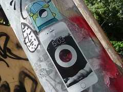 Montreal 2017 (bella.m) Tags: graffiti streetart urbanart montreal canada art wheatpaste pasteup iphone